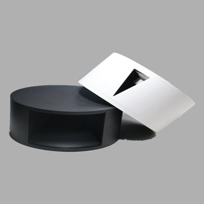 黑白款灯筒注塑外壳