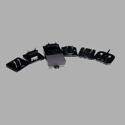 6款可抽换式转接头适配器电源注塑外壳