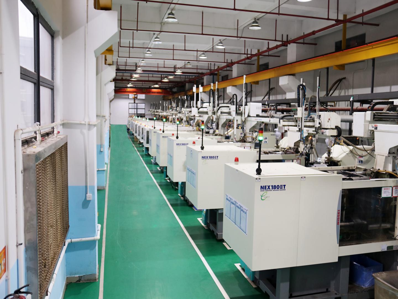 立新塑胶-公司注塑机台设备